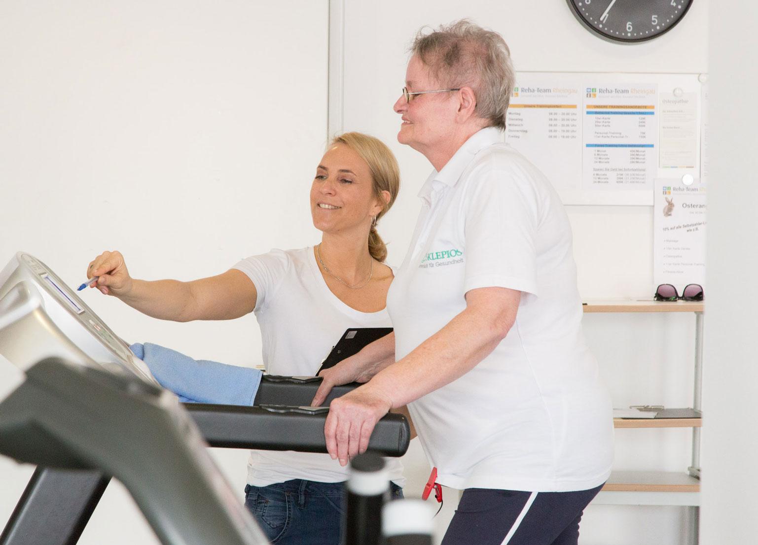 Reha-Sport und Fitness für Senioren